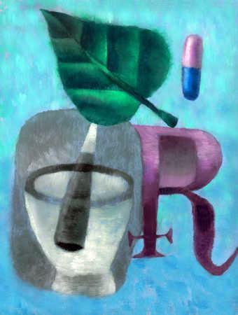 Pharmacology symbols