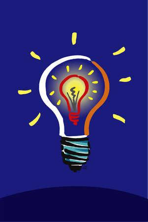 Light Bulb Within Light Bulb