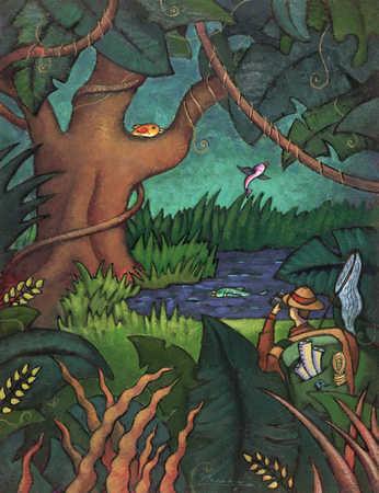 Explorer In A Jungle