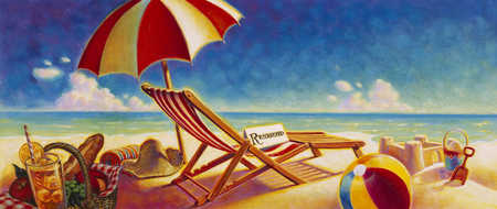 Reserved Seating At The Beach