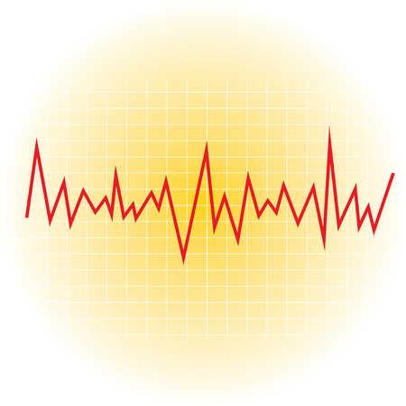 Erratic graph line