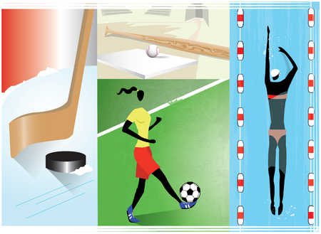 Assorted sports images