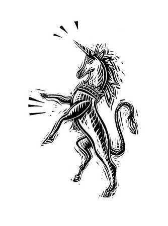Illustration of unicorn