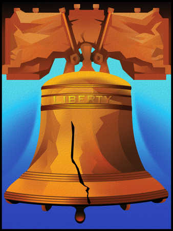 Illustration of the Liberty Bell