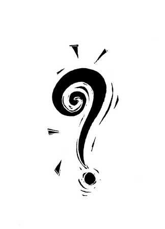 Illustration of question mark