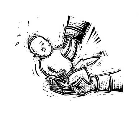 Illustration of baby
