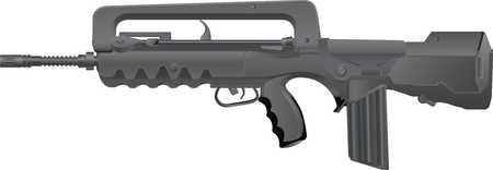 FAMAS-f1 assault rifle