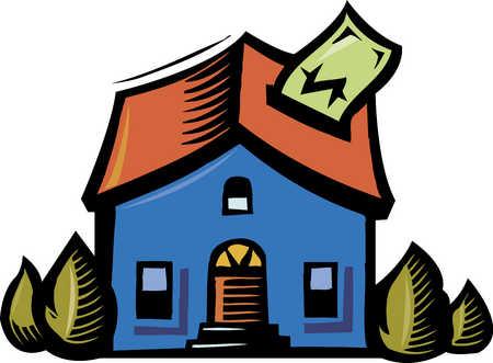 Home finance, close-up