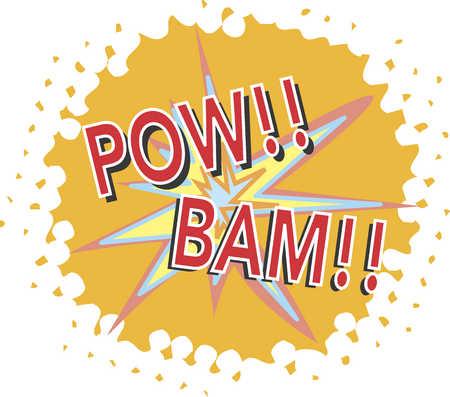 bam! pow!