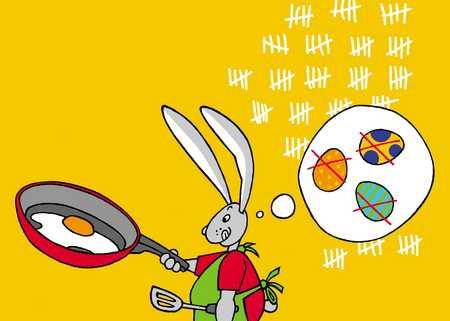 making eggs
