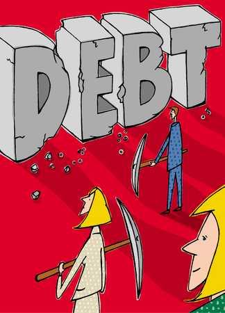chipping away at debt