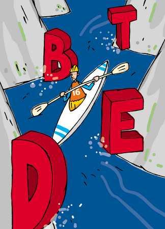 kayaking through debt