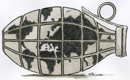 Global hand grenade
