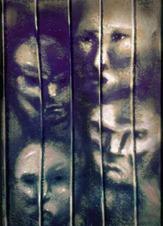 Four people behind bars