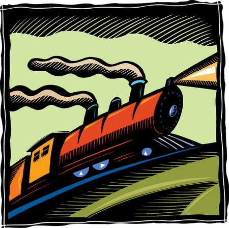 Illustration of train