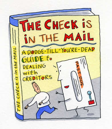 'The Check is in the Mail' guidebook