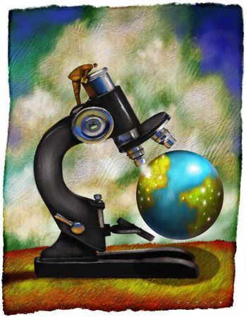World Under Microscope