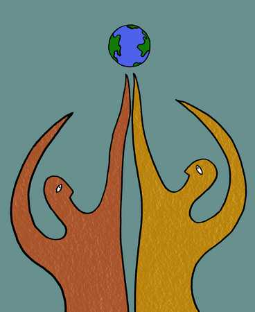 Reaching For The Globe