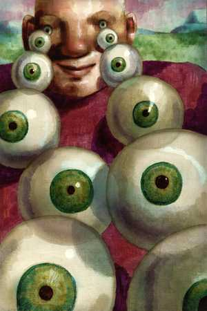 Man With Eyeballs