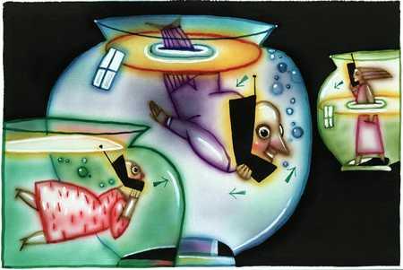 Fishbowl Phone Users