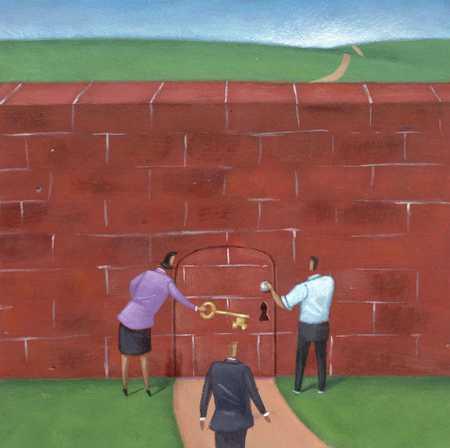 Brick Wall Path