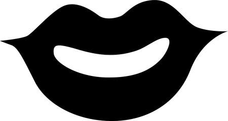 Drawing of a pair of lips