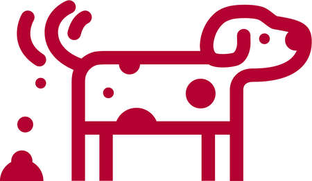 A cartoon drawing of doggie doo
