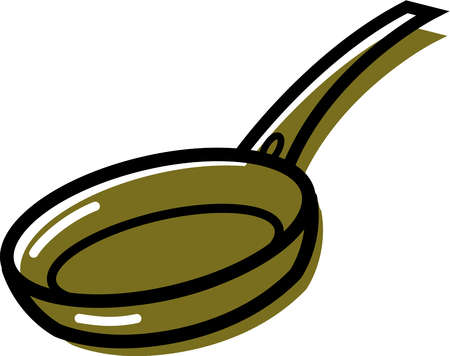 stock illustration illustration of a frying pan rh illustrationsource com frying pan clipart free picture of frying pan clipart