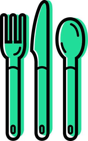 Stock Illustration - Illustration of cutlery Table Knife Clipart