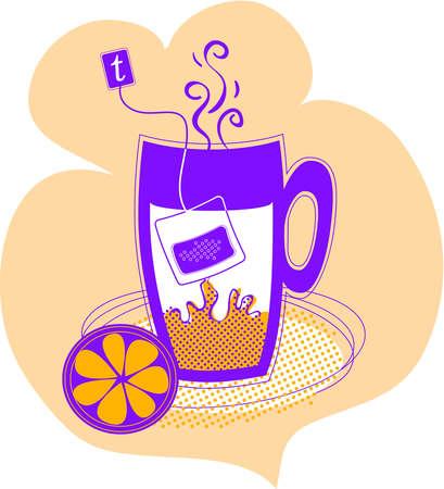 An image of tea steeping