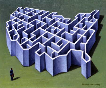 Maze Of United States