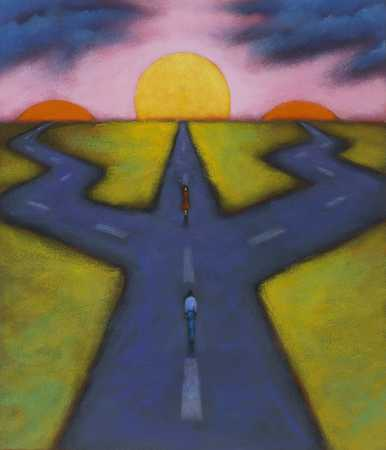Crossroads With Suns