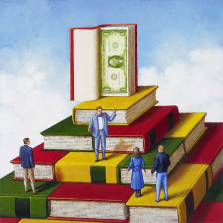 Book-hill, People, Dollar
