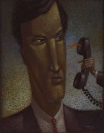 Man With Evil Telephone