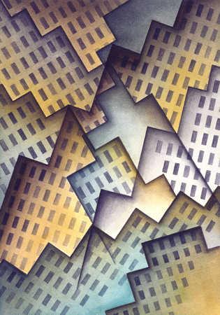 Cubist Skyline