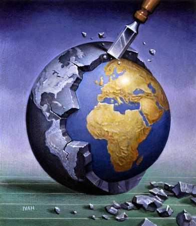 Chiseling Earth