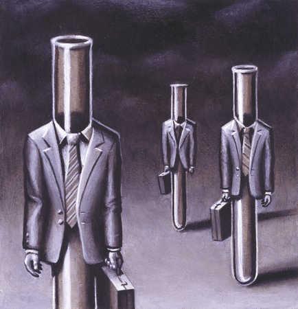 Test Tube Businessmen