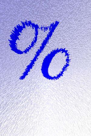 Illustration of the percent symbol.