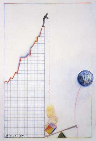 Chart With Earth And See-Saw