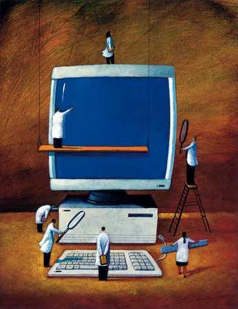 Examining Computer