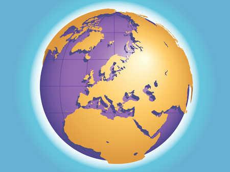 Globe Of Europe