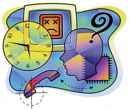 Computer, Clock, Profile, Receiver
