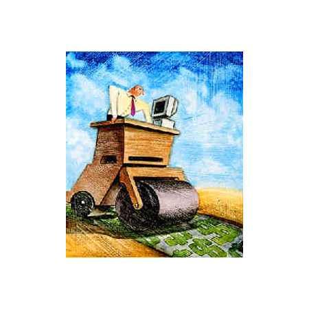 Steamroller Desk