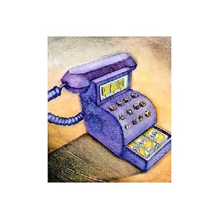Phone Cash Register