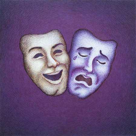 2 Faces Happy/Sad