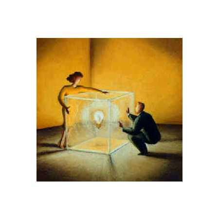 Lightbulb Inside Box