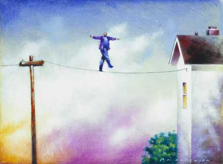 Man On A High-Wire