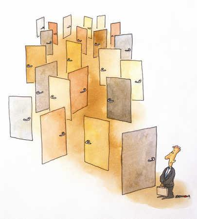 Man With Many Doors