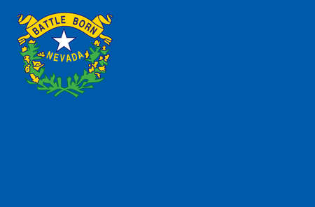 Stock illustration nevada state flag for Nevada state flag coloring page