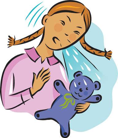 Cartoon Sneeze Stock Illustrations – 778 Cartoon Sneeze ...
